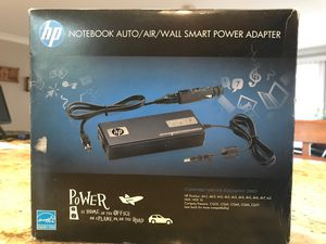 HP Notebook Auto-Air-Wall power adapter for Sale in Itasca, IL