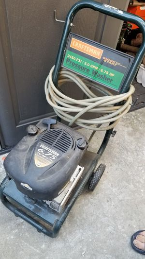 Craftsman made in usa pressure washer for Sale in San Jose, CA