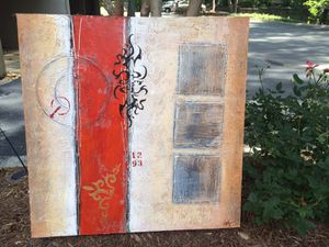 Acrylic contemporary painting for Sale in Atlanta, GA