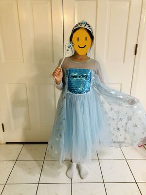 Child Costume Elsa for Sale in McLean, VA