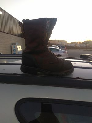 Size 10 redwings work boots for Sale in Richmond, VA
