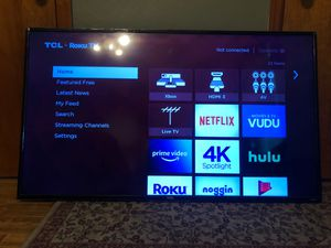 TCL 55 inch Roku tv for Sale in Lebanon, IL