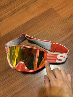 SPY dirt bike goggles for Sale in Golden, CO