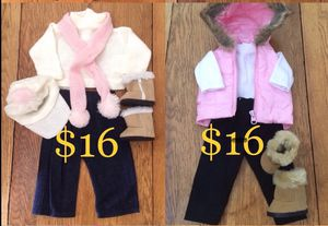 """Complete Outfits for 18"""" Dolls; American Girl, Journey Doll, Battat etc.. The Queen's Treasure Brand NEW!! for Sale in Las Vegas, NV"""