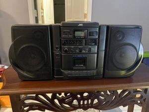JVC stereo systems with antenna for Sale in Murfreesboro, TN