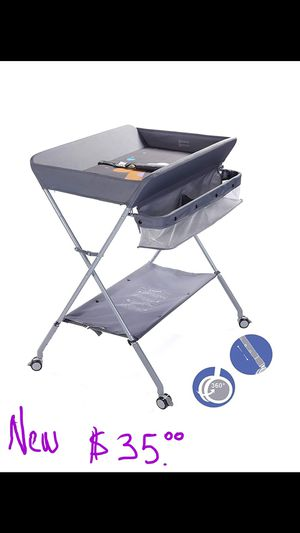 Folding baby changing table for Sale in Phoenix, AZ