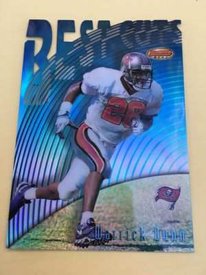 WARRICK DUNN R.C • 1997 TOPPS CHROME BEST CUTS REFRACTOR # BC7 • BUCCANEERS • for Sale in Orange, CA