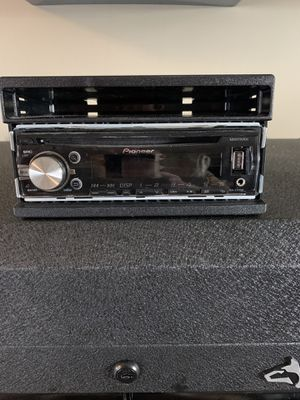 Pioneer In Dash Receiver with Remote for Sale in Weyers Cave, VA