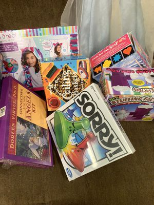 One adult game and res for kids games all for $40 for Sale in Sterling Heights, MI