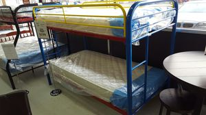 BUNK BED FRAME - METAL FRAME for Sale in Portland, OR