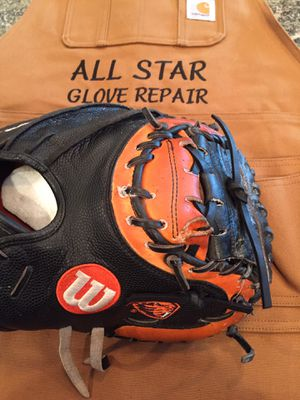 ***ALL-STAR GLOVE REPAIR*** Affordable baseball/softball glove re-lacing and conditioning! for Sale in Tigard, OR