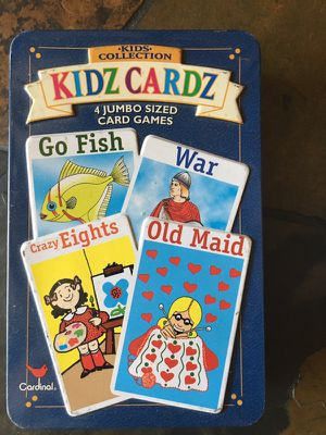 Kids Cardz: Variety Pack of Card Games for Sale in Germantown, MD