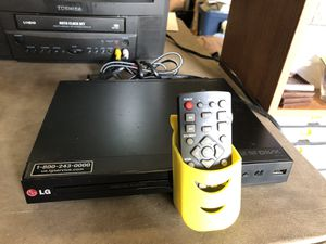 LG DVD/player with new remote for Sale in West Columbia, SC