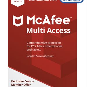 McAfee - 1-year subscription for Sale in Castro Valley, CA