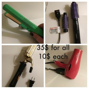 Hair styling equipment for Sale in Wichita, KS