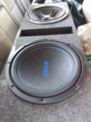 2 12's competition speakers in box for Sale in Columbia, SC