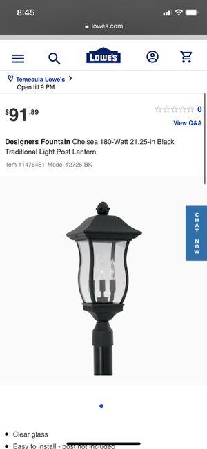 2 Designer Fountain Lights for Sale in Murrieta, CA