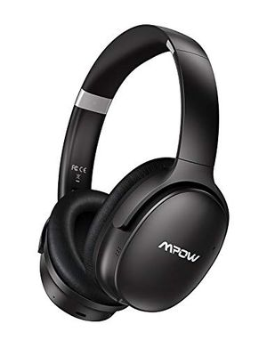 Mpow Hybrid Noise Cancelling Headphones, Bluetooth Headphones Over Ear with Microphones, Hi-Fi Deep Bass, Memory-Protein Earmuffs, 30H Playtime for Sale in Lebanon, IL