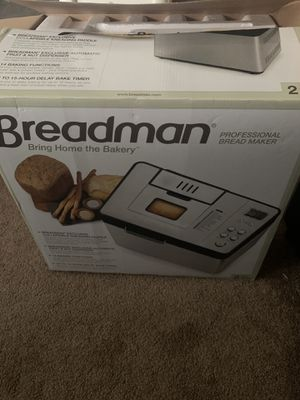 Breadman professional bread maker for Sale in West Hollywood, CA