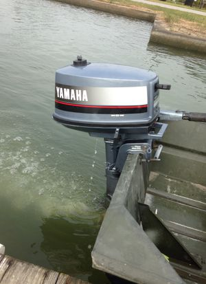 4hp Yamaha Outboard Boat Motor for Sale in Friendswood, TX