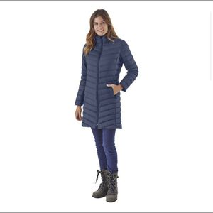 Patagonia Silent Down Parka Coat Navy XS for Sale in Pacifica, CA
