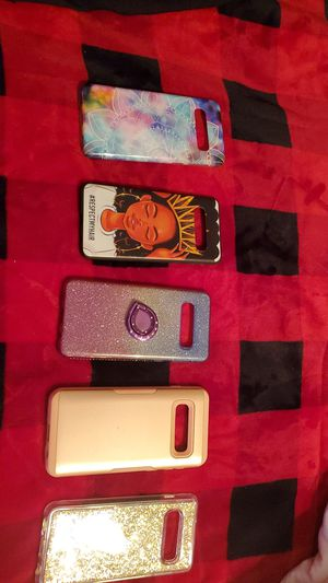 Samsung s10 phone cases for Sale in Raeford, NC