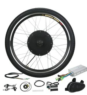 "Electric Bicycle E-Bike 26"" Front Wheel Motor Conversion Kit with LCD dislpay for Sale in Brooklyn, NY"