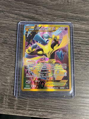 Pokémon PACK FRESH Fates Collide Alakazam EX 125/124 for Sale in Dunedin, FL