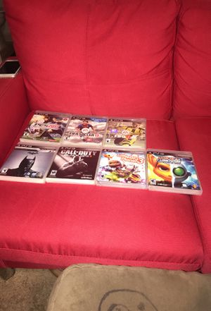 PS3 2013, fifa17, fifasoccer13,Knightfall,littlebig planet,ratchet lank future for Sale in Gaithersburg, MD
