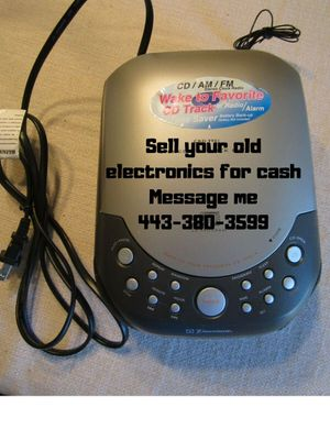 Cd player for Sale in Baltimore, MD