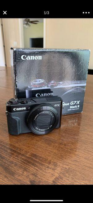 Canon G7x Markii & Gorilla Pod for Sale in Phoenix, AZ