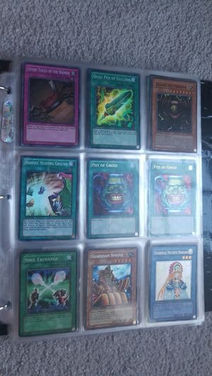 Part6 Yu-Gi-Oh binder holos ultimtaes secrets rar etc for Sale in Manassas, VA