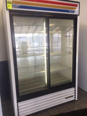 Refrigerator commercial clear double door for Sale in San Antonio, TX