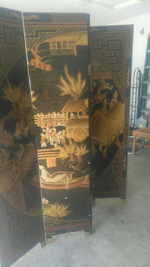 Oriental art wall divider for Sale in Lehigh Acres, FL