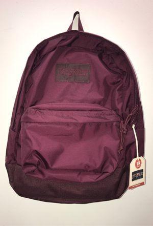 Mono Burgundy Jansport Superbreak Backpack for Sale in Wesley Chapel, FL
