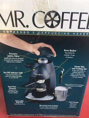 Mr. Coffee Espresso and Cappuccino maker for Sale in Orange, CA