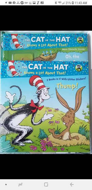 Cat in the Hat Book Set of 3 for Sale in Dallas, TX