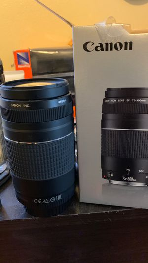 Ef 75-300 mm f/4-5.6 for Sale in Houston, TX