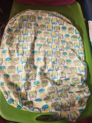 Baby Crib Changing Pad Cover Soft Fuzzy Owls New for Sale in San Ramon, CA