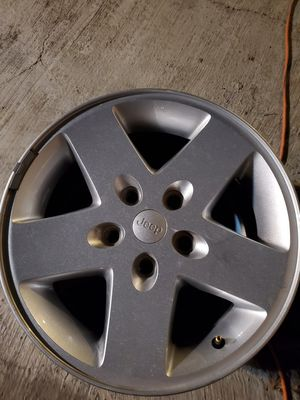 Set jeep wheels for Sale in Fresno, CA