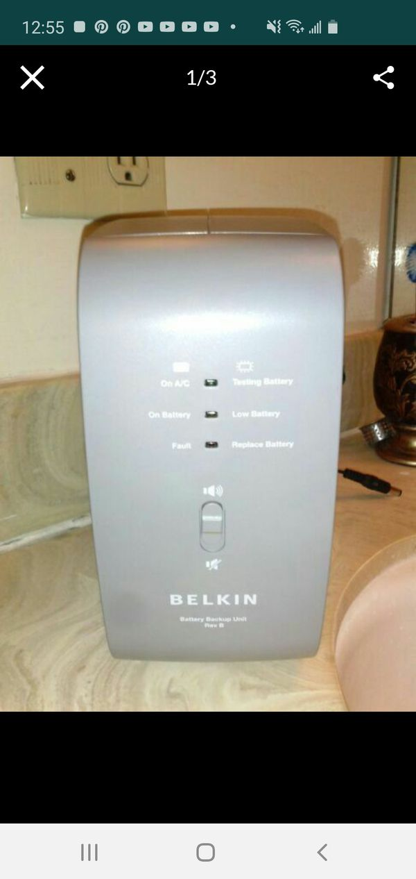 New Belkin residential getaway backup