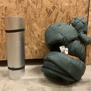 Sleeping Bag And Sleeping Pad for Sale in Portland, OR