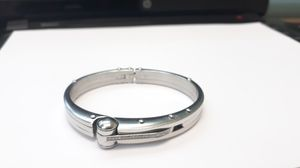 stainless steel Diamond Hand Cuff Style bracelet 7 inch for Sale in Decatur, GA