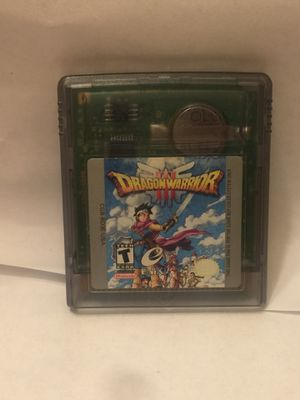 Dragon warrior 3 gameboy color for Sale in Carmichael, CA