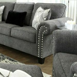 🚛IN STOCK /FAST DELIVERY Agleno Charcoal Living Room Set for Sale in Silver Spring, MD