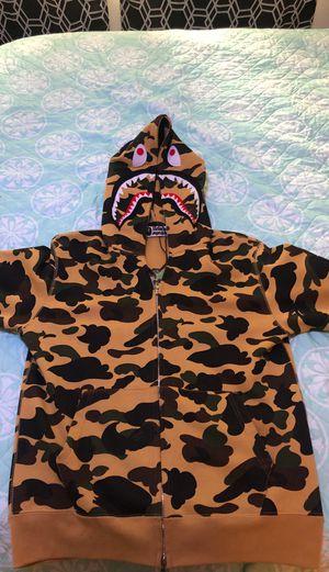 Bape Camo Zip up hoodie for Sale in Arlington, TX