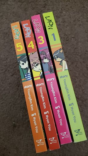 LAON Manga Vol. 1, 3, 4, and 5 for Sale in Evansville, IN