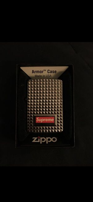 supreme diamond cut zippo for Sale in West Hollywood, CA