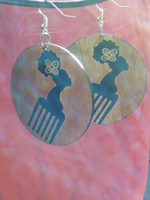 Afro Pick Earrings for Sale in St. Louis, MO
