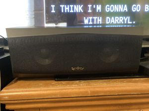 Home Theater Surround Sound Center Speaker for Sale in Phoenix, AZ